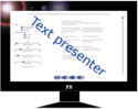 Text presenter - free online application